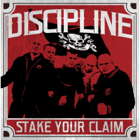 "Discipline - Stake Your Claim 12"" LP(in stock 4th JULY)"