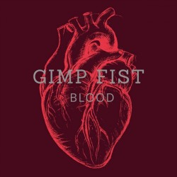 """Gimp Fist - Blood 12"""" LP (colour vinyl)"""