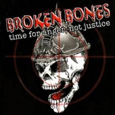 Broken Bones - Time For Anger Not Justice CD