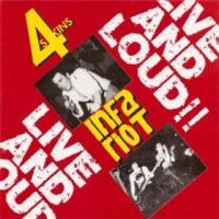 4 Skins/Infa Riot - Live and Loud CD