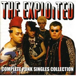 The Exploited - The Complete Punk Singles CD