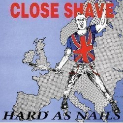 """Close Shave - hard As Nails 12"""" LP (300 copies only Blood red vinyl)"""