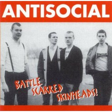 Antisocial - Battle Scarred Skinheads CD