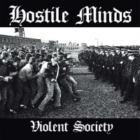 Hostile Minds - Violent Society CD (lim 300) D2