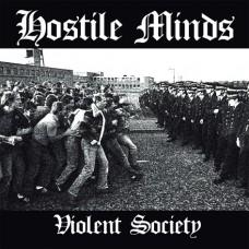 Hostile Minds - Violent Society CD (lim 300) D2