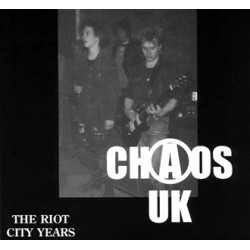 Chaos UK - The Riot City Years CD