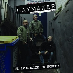 "Haymaker - We Apologize To Nobody 12"" LP"