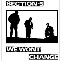 Section 5 - We Won't Change CD