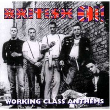 British Oi! - Working Class Anthems CD