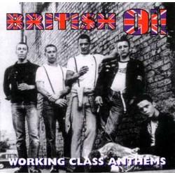 British Oi! - Working Class Anthems CD