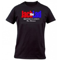 Jack The Lad - Logo T Shirt Black