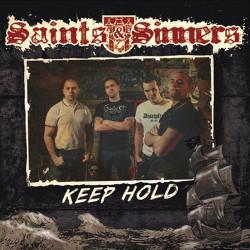 """Saints & Sinners - Keep Hold 7"""" EP G/F sleeve Black Vinyl"""
