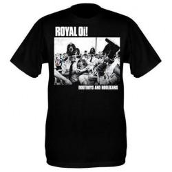 Royal Oi! - Bootboys & Hooligans T Shirt (black)