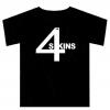 4-Skins Logo T Shirt