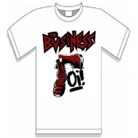 The Business - Oi! T Shirt (white)