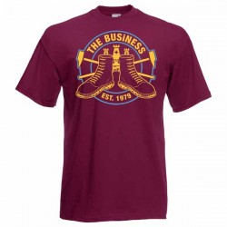 The Business - West Ham T Shirt bergundy