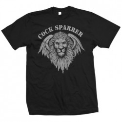 Cock Sparrer - Lion T Shirt (black)