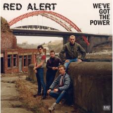 "Red Alert - We`ve Got The Power 12"" LP Clear vinyl (in stock 30/4/21)"
