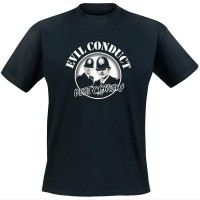 Evil Conduct - Bent Coppers T Shirt