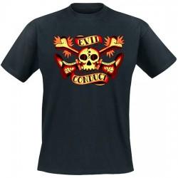 Evil Conduct - Skull & Bones T-Shirt