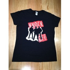 KNOCK OFF  BAND T SHIRT BLACK