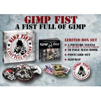 Gimp Fist - A Fist Full of Gimp (Collectors box) 4 Picture LPs, Book, Slipmat, Cards...