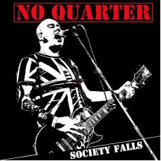 """No Quarter - Society Falls 12"""" LP White vinyl"""