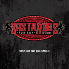 "Bastardes - Drunk On Dreams 12"" LP + MP3 Red Vinyl"