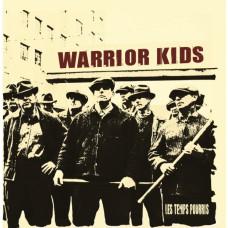 """Warrior Kids - Les Temps Pourris 12"""" vinyl Transparrent Blue"""