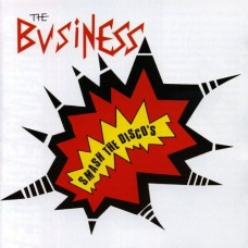 """The Business - Smash the Discos 12"""" (ltd Oxblood Red Vinyl"""