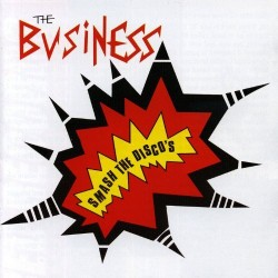 "The Business - Smash the Discos 12"" (ltd Oxblood Red Vinyl"
