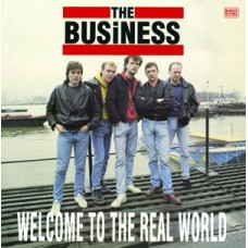 """The Business - Welcome to the Real World 12"""" LP"""