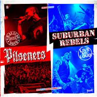 """Pilseners/Suburban Rebels - Live And Loud 12"""" LP (White Vinyl) 5/6/20"""