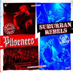 """Pilseners/Suburban Rebels - Live And Loud 12"""" LP (White Vinyl) NEW 26/6/20"""