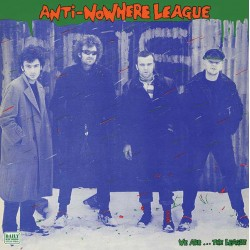 "Anti Nowhere League - We Are The League 12"" LP"