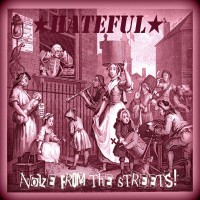 "Hateful - Noize From The Streets 12"" LP (Purple vinyl)"