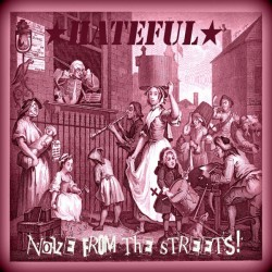 "Hateful - Noize From The Streets 12"" LP (Purple vinyl)"