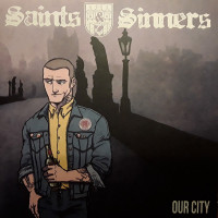 "Saints & Sinners - Our City 7"" EP Tricolour or Black Vinyl"