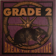 "Grade 2 - Break the Routine 12"" LP Yellow Vinyl Gatefold Sleeve"