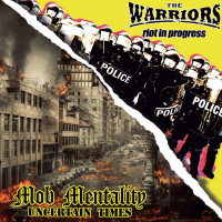 """The Warriors / Mob Mentality 7"""" Black or Orange with Black Marbled vinyl"""
