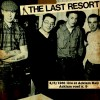 "The Last Resort - Live at Acklam Hall 4/03/1981 12"" LP black/yellow mix + poster"