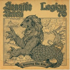 "Seaside Rebels / Legion 76 - Turning The Tide 7"" EP"