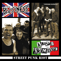 "V/A - Streetpunk Riot 7"" EP feat The Business/klasse Kriminale/IL Complesso limites only 200 copies!!"