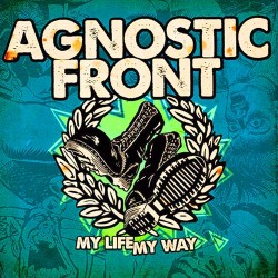 "Agnostic Front - My Life, My Way 12"" 2017 repress ( lim 500 Beer Col)"