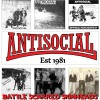 """Antisocial - Battle Scarred Skinheads 12"""" LP (limited 300 copy repress)"""