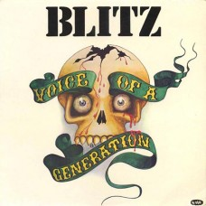"Blitz - Voice of a Generation 12"" LP"