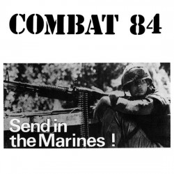 """Combat 84 - Send In The Marines 12"""" LP (Red vinyl)"""