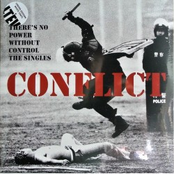 "Conflict - There`s No Power Without Control 12"" Double vinyl (Ltd white vinyl)"