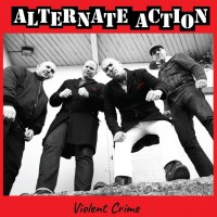"Alternate Action - Violent Crime 12"" LP White vinyl (Silkscreened B side)"