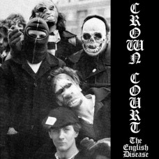 """Crown Court - The English Disease 7"""" EP(Clear Vinyl)"""